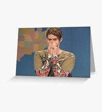 SNL Stefon - Bill Hader Greeting Card