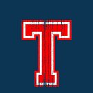 Big Red Letter T by adamcampen
