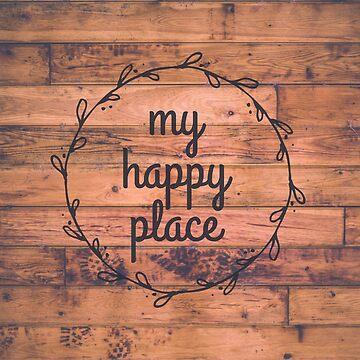 Mein glücklicher Platz // glückliches inspirierend Zitat von hocapontas