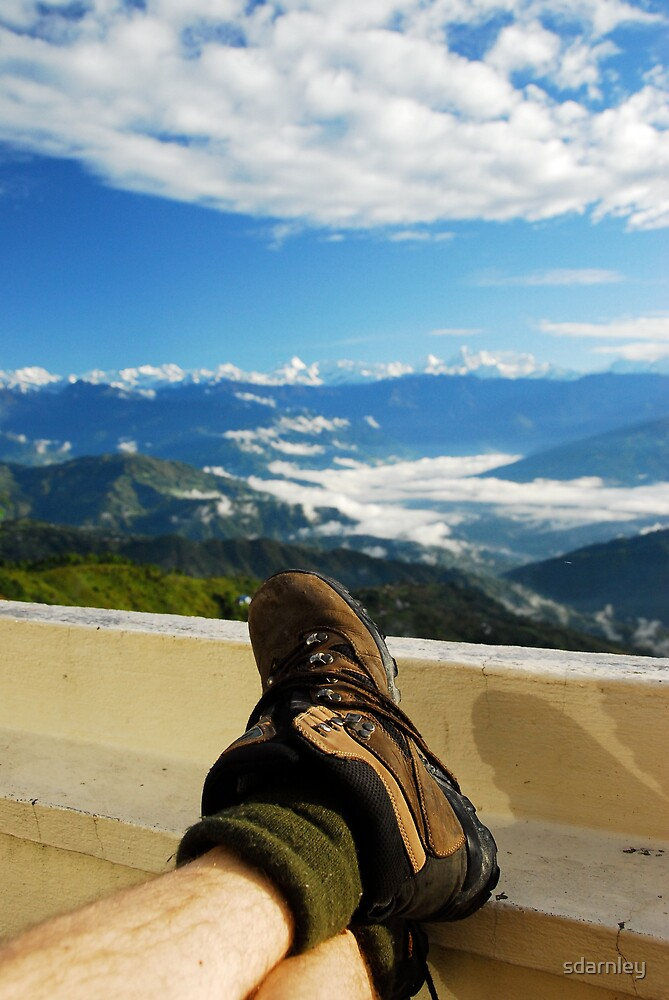 Boots and Mountains by sdarnley