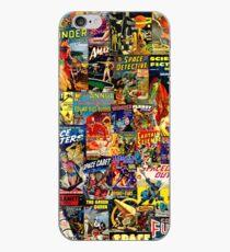 Sci-Fi Comic Collage iPhone Case