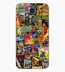 Sci-Fi Comic Collage Case/Skin for Samsung Galaxy