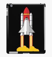 Rocket Space Shuttle Houston iPad Case/Skin