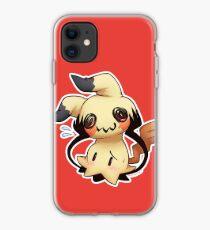 Pokemon Mimikyu Pika Video Game iphone case