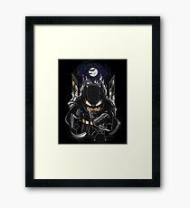 Dark Night Watcher Framed Print