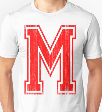 Big Red Letter M T-Shirt