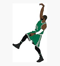 """Kyrie Irving """"Hold It"""" Photographic Print"""