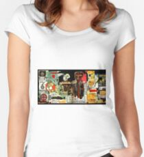 Jean-Michel Basquiat - Notary 1983 Women's Fitted Scoop T-Shirt