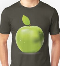 Fresh green apple Unisex T-Shirt