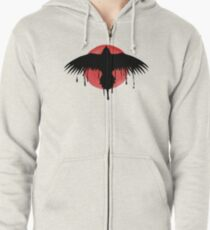 Life is strange - Before the storm - Chloe - Crow shirt Zipped Hoodie