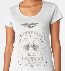 johnny cash Women's Premium T-Shirt