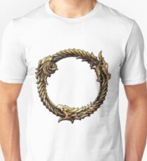 Elder Scrolls Dragon loop Unisex T-Shirt