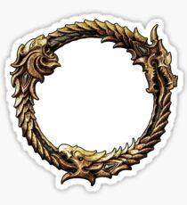 Elder Scrolls Dragon loop Sticker