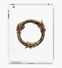 Elder Scrolls Dragon loop iPad Case/Skin