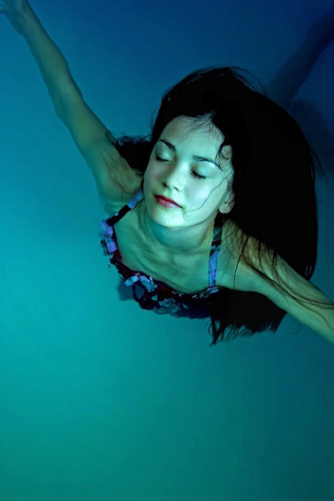 the swimmer by Rebecca Tun