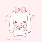 « hungry bunny » par stardustpalace