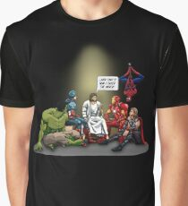 And That's How I Saved The World Jesus Shirt Graphic T-Shirt