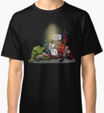 And That's How I Saved The World Jesus Shirt Classic T-Shirt