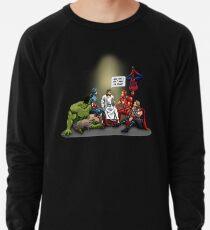 Und so rettete ich die Welt Jesus Shirt Leichter Pullover