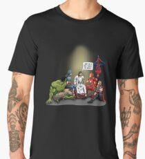 And That's How I Saved The World Jesus Shirt Men's Premium T-Shirt