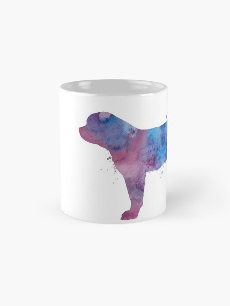 Alternative Ansicht von Bernhardiner (Hund) Tassen