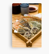 Vegetable tempura Canvas Print