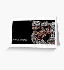federer Greeting Card