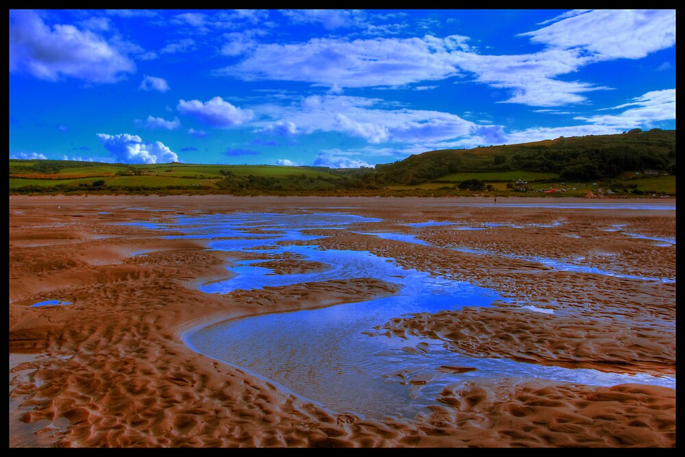 Poppit Sands by orangesource