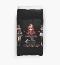 Are You Leaving Me Again? Duvet Cover