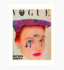 Vogue - April 1951 Kunstdruck