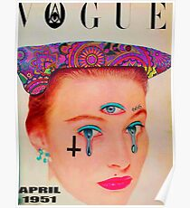 Vogue - April 1951 Poster