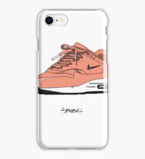 AM1 jewell dusty peach iPhone Case/Skin
