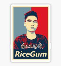 RiceGum Merch Sticker