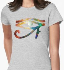 Heart of Orion | Eye of Ra [Eye of Horus] Women's Fitted T-Shirt