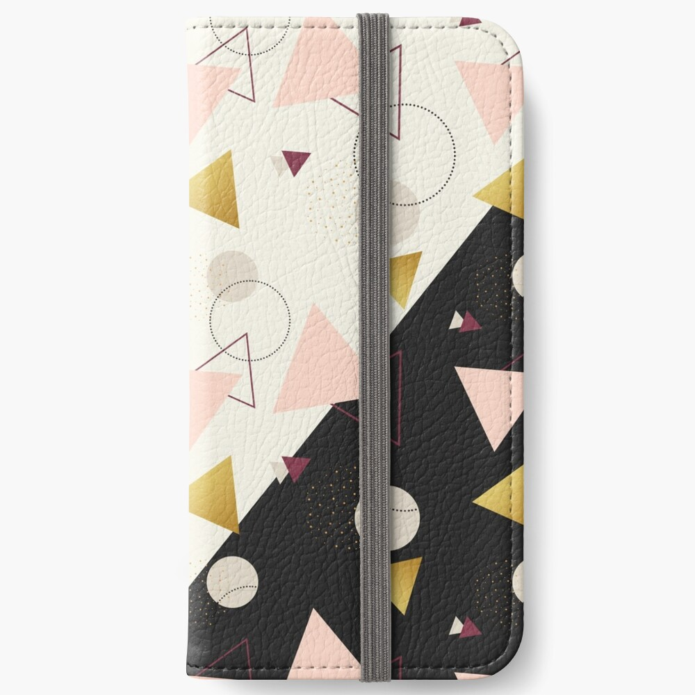 Triangles Mix #redbubble #decor #buyart iPhone Wallet