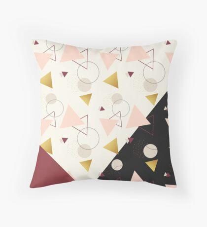Triangles Mix #redbubble #decor #buyart Throw Pillow