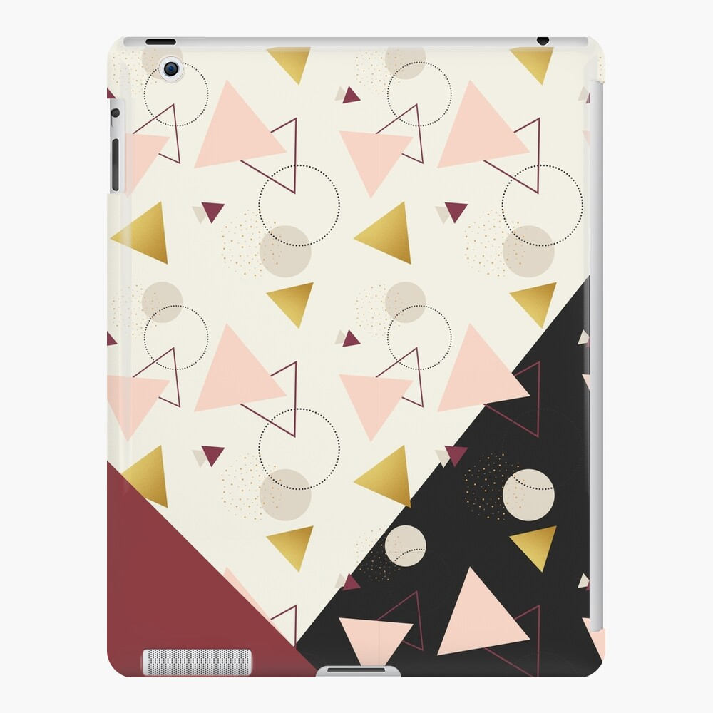 Triangles Mix #redbubble #decor #buyart iPad Case & Skin