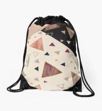 Dreiecke & Palmen #redbubble #decor #buyart Rucksackbeutel