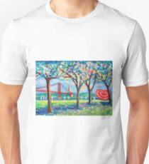 Tejo river. plein air. Lisbon T-Shirt