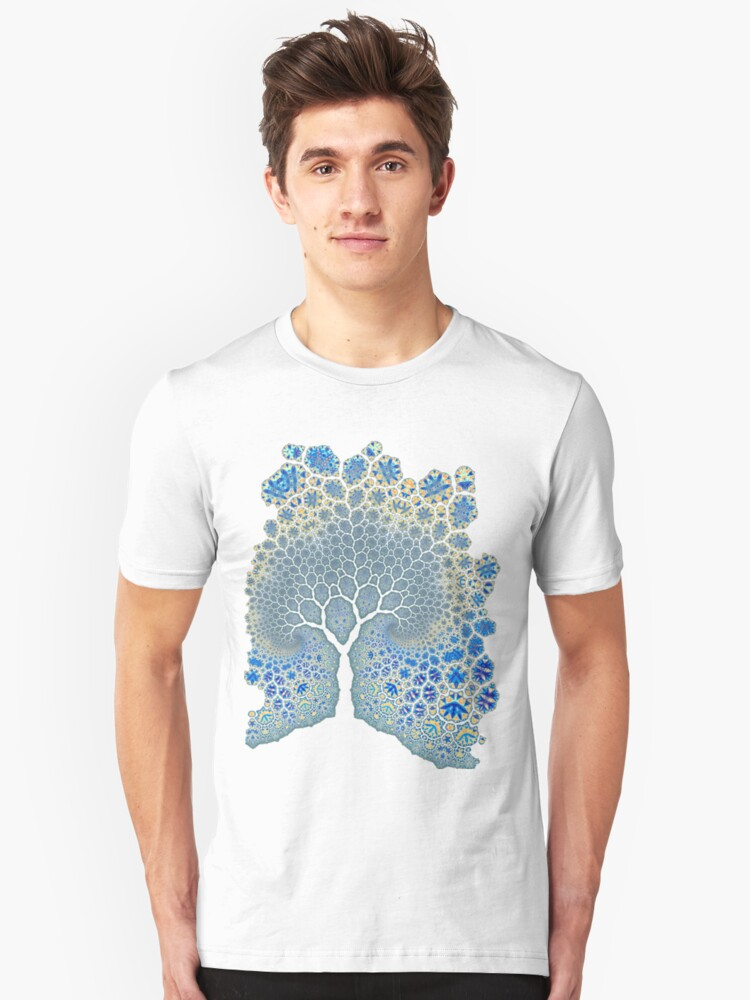 Fractured Tree 2 Unisex T-Shirt Front