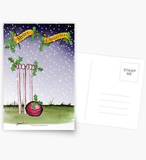 Cricket Merry Christmas Postcards