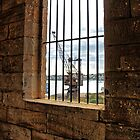 From behind bars. by Ian Ramsay