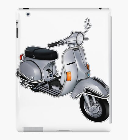 Scooter T-shirts Art: P200e vintage scooter iPad Case/Skin
