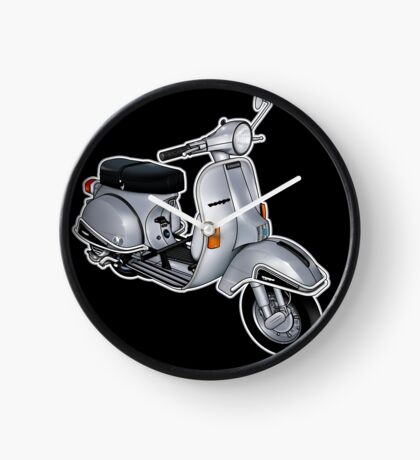 Scooter T-shirts Art: P200e vintage scooter Clock