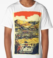 Fallout Graphic poster   Long T-Shirt