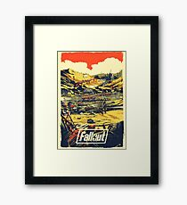 Fallout Graphic poster   Framed Print