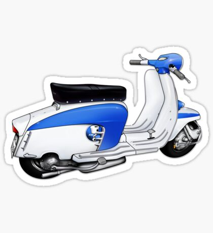 Scooter T-shirts Art: TV 175 Lambretta illustration Sticker