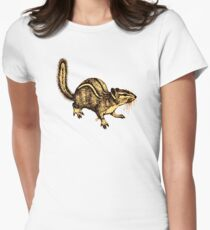 Squirrel Women's Fitted T-Shirt