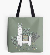 Smug Llama Tote Bag