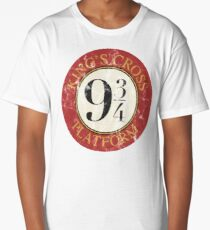 Platform 9 3/4 Distressed Long T-Shirt